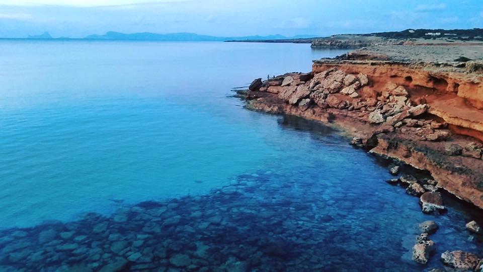 Ibiza best beaches - CharterAlia boat hire Ibiza