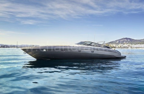 Ibiza yacht rental Baia Aqua 54