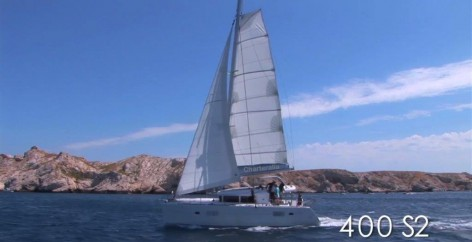 Sailing with a catamaran in Ibiza