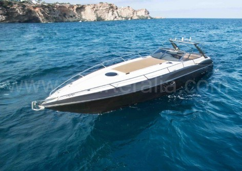 Superhawk 48 yacht for rent in Ibiza