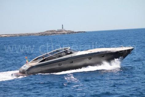 Yacht hire Ibiza Baia Aqua 54