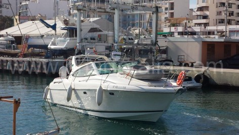 Jeanneau 34 Prestige yacht for hire in Ibiza