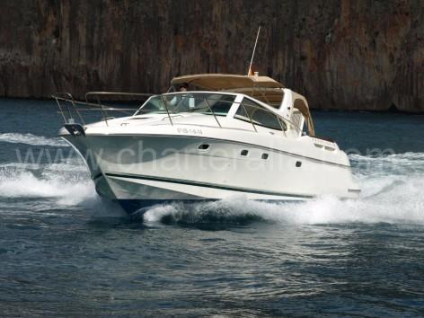 Prestige 34 yacht charter in Ibiza and Formentera