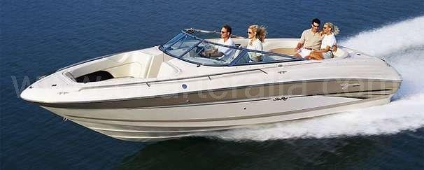 Speedboat hire in Ibiza Sea Ray 230 Signature