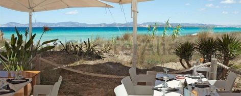 Juan and Andrea restaurant in Ses Illetes in Formentera