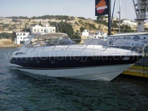 Ibiza yacht hire Camargue 46 Sunseeker