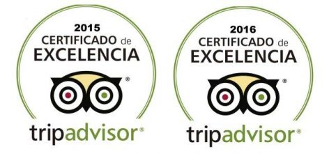 Certificate Of Excellence TripAdvisor 2015 and 2016 CharterAlia Ibiza Yacht Hire