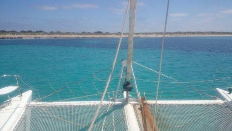 Charter catamaran model lagoon 470