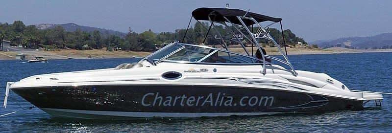 Speed boat for hire in Ibiza Sea Ray 270