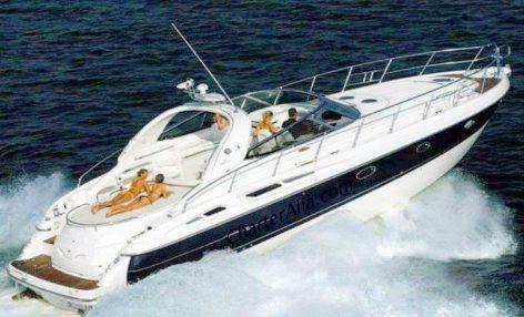 cranchi 39 yacht hire ibiza