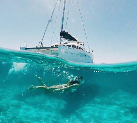 Catamaran hire Ibiza
