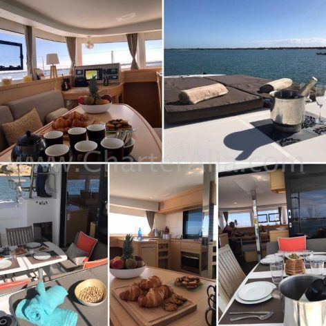 Boat rental in Ibiza with crew and hostess