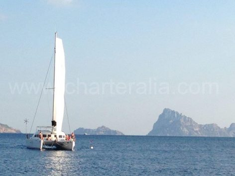 Passage between Es Vedra and Es vedranell