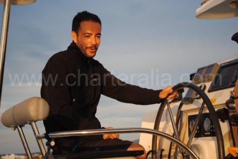Jose Navas the captain