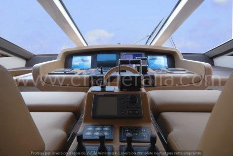 Canados 90 cockpit yacht hire ibiza