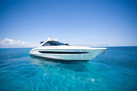 Riva 68 Ego sailing in Formentera