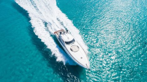 Sailing on Sunseeker Predator 75 for day rental