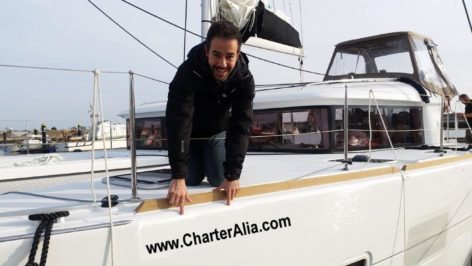 In CharterAlia we are direct owners of all our boats. Catamaran Lagoon 400 also Contract with the final owner