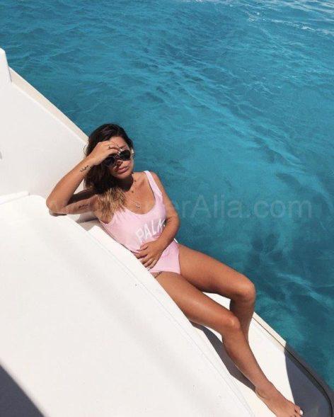 Spanish influencer Dulceida enjoyed a full week on board the Lagoon 400 catamaran in Ibiza and Formentera