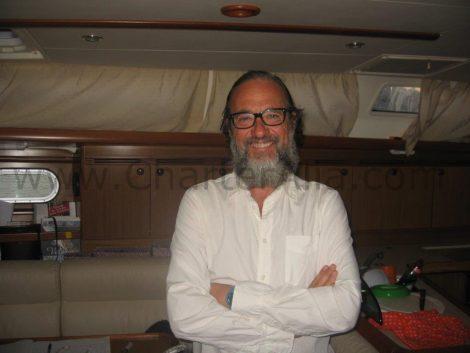 Capitaine edorta pour CharterAlia location de bateau a ibiza