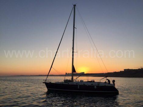 Le voilier de location de bateau à Ibiza