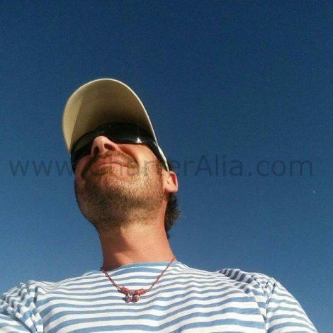 Mario capitaine de CharterAlia yacht Ibiza