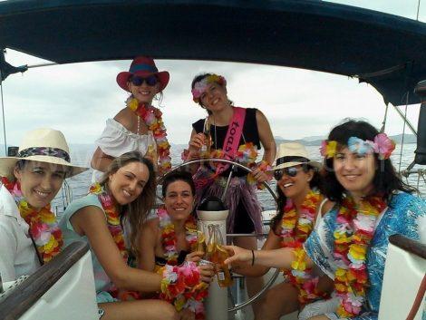 evjf Ibiza yacht
