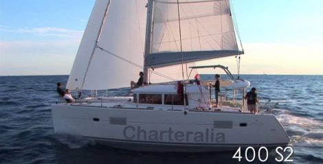 journee de location sur le catamaran Lagoon 400 a Ibiza