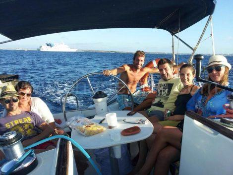 location voilier pour excursion d une journee a Ibiza