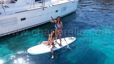 planche de paddle a Ibiza