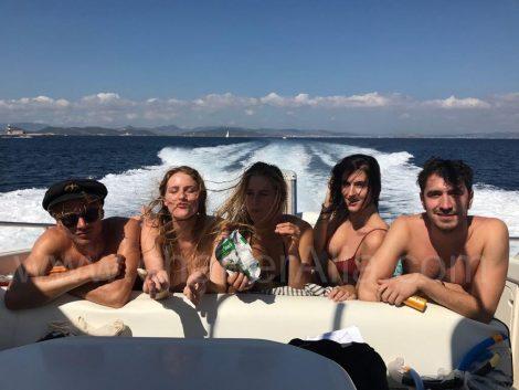 Camargue Sunseeker 46 yacht à moteur à Ibiza