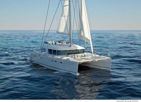 catamaran-Lagoon-560-navigant à la voile
