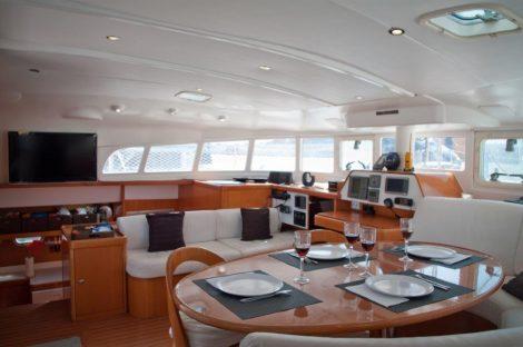 Luxueux catamaran