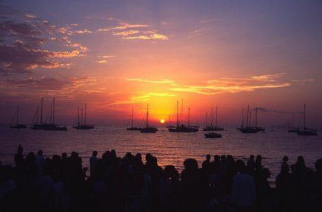Magnifique sunset au beso beach formentera