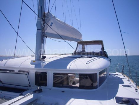 Skipper catamaran Lagoon 400