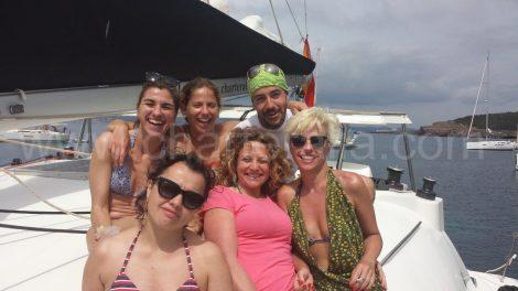 bateau de location avec amis a calabassa