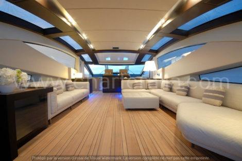 Canados 90 salon yacht en location dans les baleares