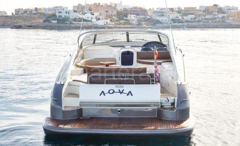Baia Aqua 54 yacht location a Ibiza