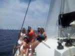 Donne capitane barca Ibiza
