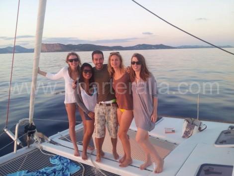 Noleggio di catamarani a Ibiza e Formentera
