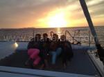 barca per tramonto a Formentera Ibiza