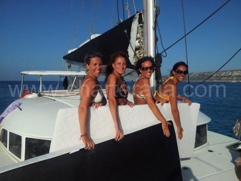 noleggio di yacht a Ibiza