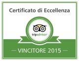 certificato di Eccellenza Tripadvisor Charteralia 2015