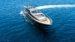 Mini vista aerea Leopard 90 noleggio yacht Ibiza e Formentera 75x42
