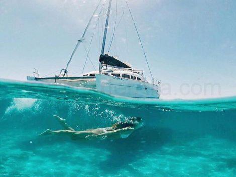 Noleggio catamarani Ibiza
