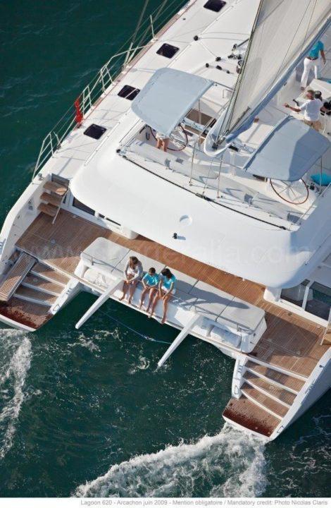Noleggio catamarano di lusso delle Baleari