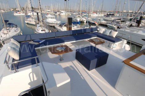 Tetto Flybridge Victoria 67 Isole Baleari
