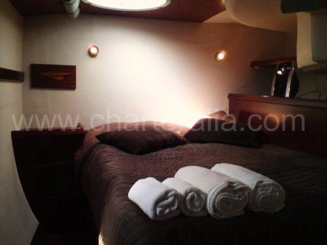catamarano cabin Ibiza