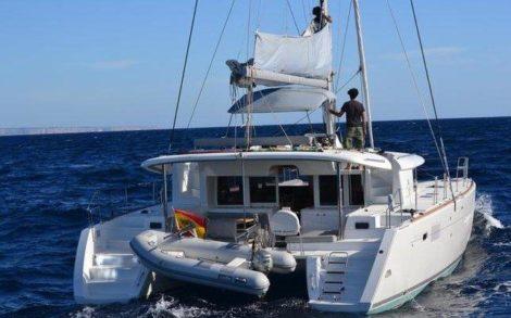 catamarano lagoon 450 Mallorca