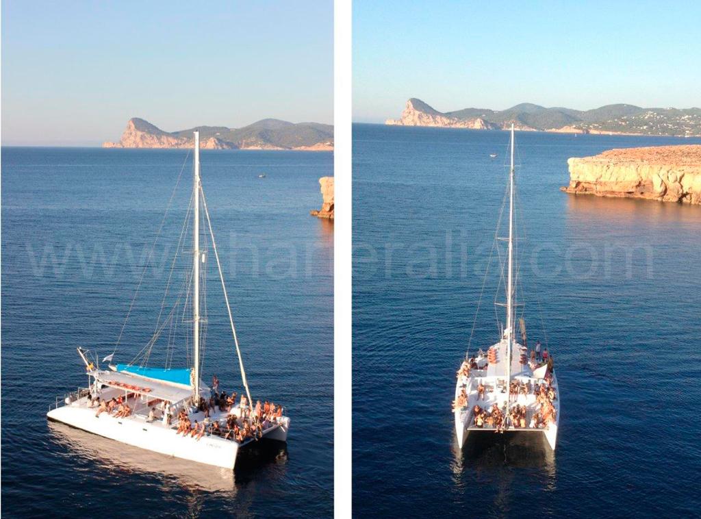 Noleggio catamarano per feste a ibiza charteralia for Noleggio tendoni per feste udine